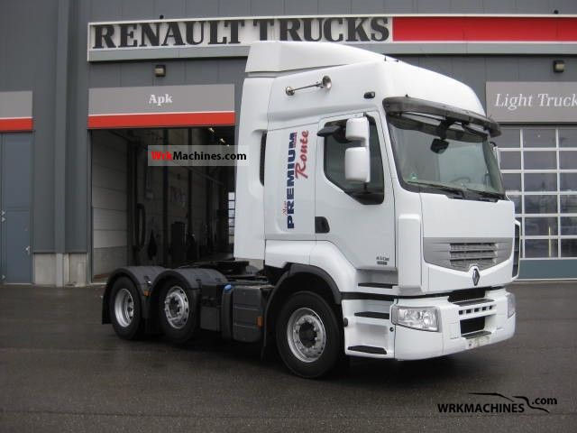 2007 RENAULT Kerax 450.26 Semi-trailer truck Standard tractor/trailer unit photo