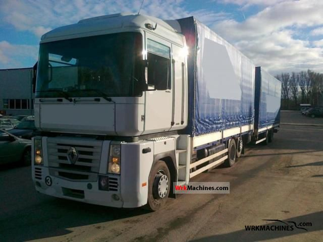 2006 RENAULT Magnum 440.26 Truck over 7.5t Jumbo Truck photo