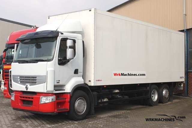 2009 RENAULT Kerax 370.26 Truck over 7.5t Box photo