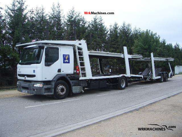 2000 RENAULT Kerax 340.18 Truck over 7.5t Car carrier photo