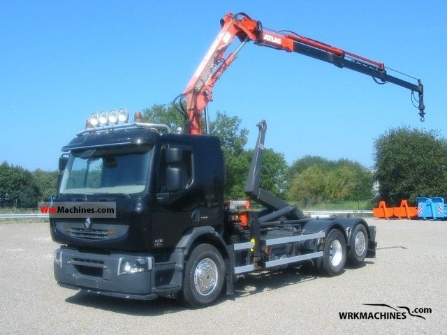 2008 RENAULT Midlum 180 Truck over 7.5t Roll-off tipper photo