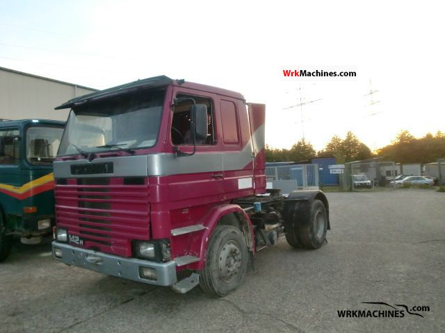 1986 SCANIA 2 - series 142 Semi-trailer truck Standard tractor/trailer unit photo