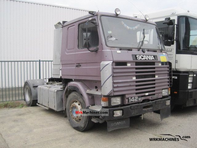 1988 SCANIA 2 - series 142 Semi-trailer truck Standard tractor/trailer unit photo