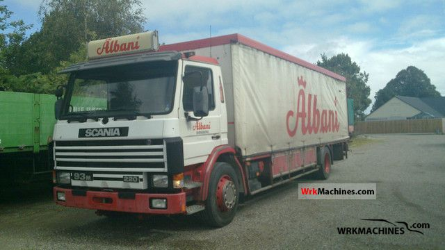 1995 SCANIA P,G,R,T - series 230 Truck over 7.5t Beverage photo