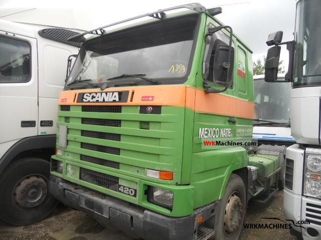 1994 SCANIA 3 - series 143 H/420 Semi-trailer truck Standard tractor/trailer unit photo