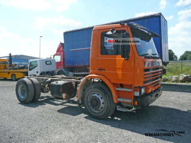 1994 SCANIA 3 - series bus 113 Truck over 7.5t Chassis photo