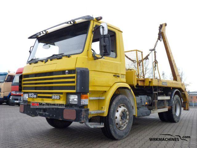 1994 SCANIA 3 - series 113 M/320 Truck over 7.5t Dumper truck photo