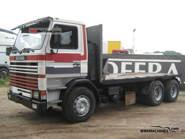 1982 SCANIA 2 - series 142 Truck over 7.5t Stake body photo