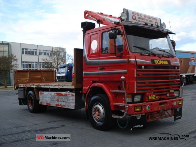 1986 SCANIA 2 - series 142 Truck over 7.5t Stake body photo