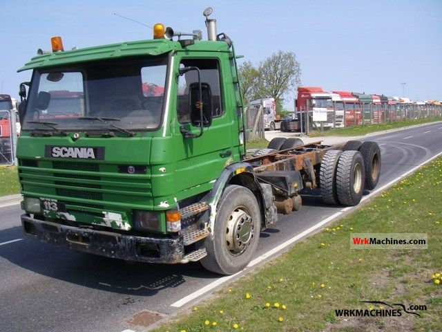 1992 SCANIA 3 - series bus 113 Truck over 7.5t Chassis photo