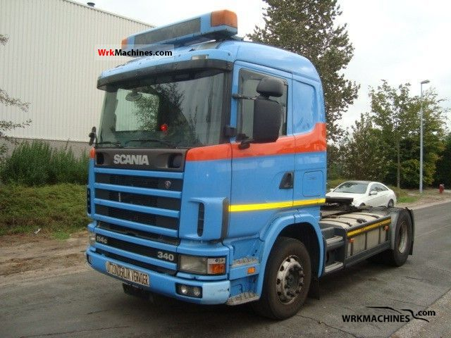 2000 SCANIA P,G,R,T - series 340 Semi-trailer truck Standard tractor/trailer unit photo