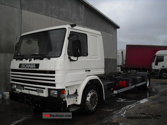 1996 SCANIA 3 - series 93 M/280 Truck over 7.5t Swap chassis photo
