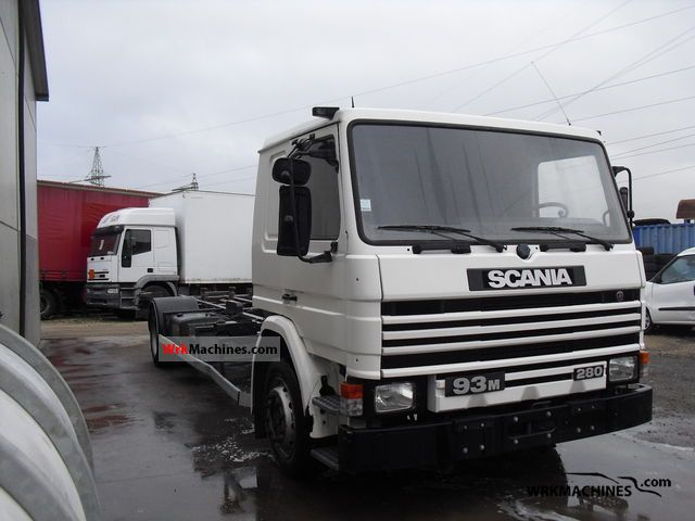 SCANIA 3 - series 93 M/280 1996 Swap chassis Truck Photos