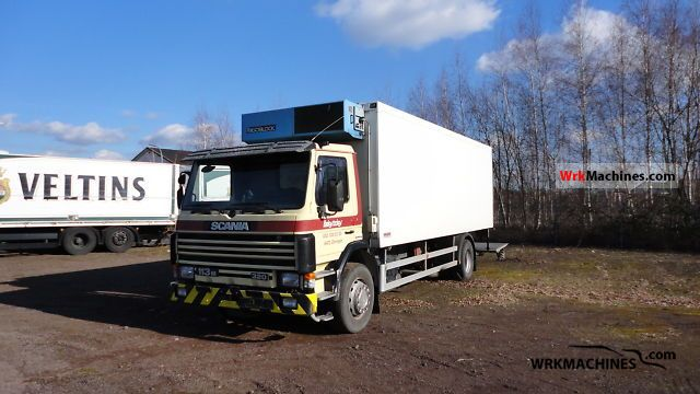1996 SCANIA 3 - series bus 113 Truck over 7.5t Refrigerator body photo