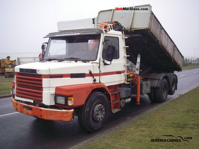 1983 SCANIA 2 - series 142 Truck over 7.5t Tipper photo