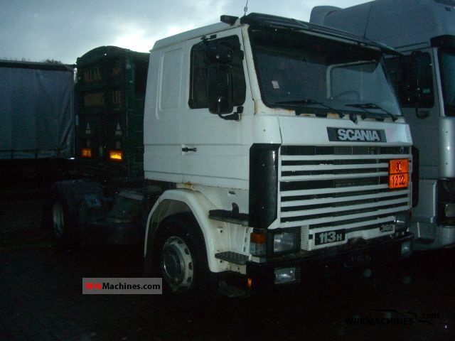 1995 SCANIA 3 - series 113 H/360 Semi-trailer truck Standard tractor/trailer unit photo