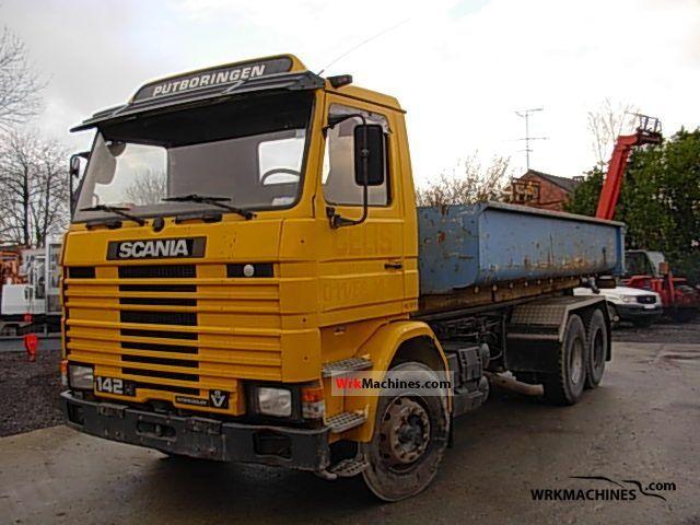 1988 SCANIA 2 - series 142 Truck over 7.5t Dumper truck photo