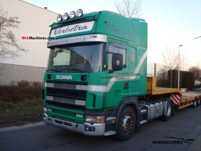 2000 SCANIA P,G,R,T - series 380 Semi-trailer truck Standard tractor/trailer unit photo