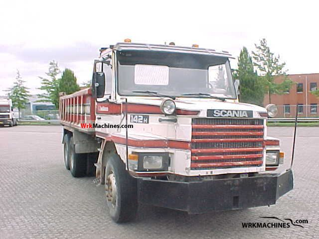 1985 SCANIA 2 - series 142 Truck over 7.5t Tipper photo