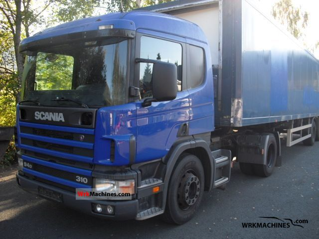 1999 SCANIA 4 - series 94 D/310 Semi-trailer truck Standard tractor/trailer unit photo