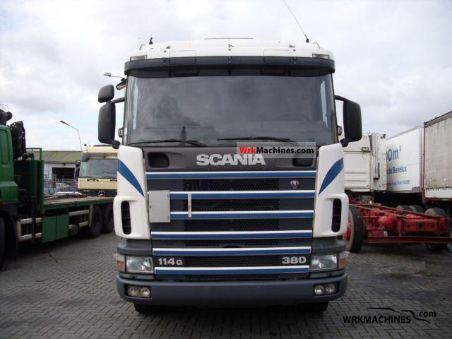 1999 SCANIA P,G,R,T - series 380 Semi-trailer truck Standard tractor/trailer unit photo
