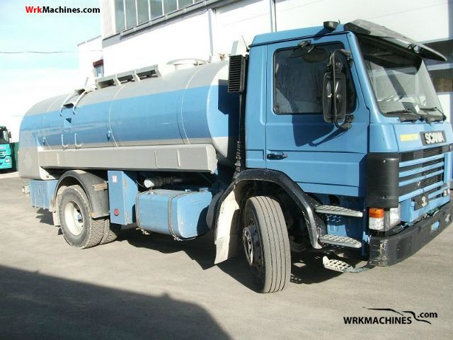 1993 SCANIA 3 - series bus 113 Truck over 7.5t Tank truck photo