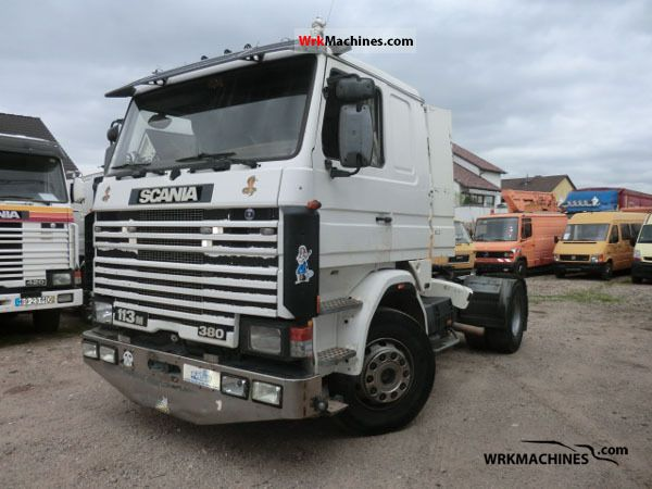 1996 SCANIA 3 - series bus 113 Semi-trailer truck Standard tractor/trailer unit photo