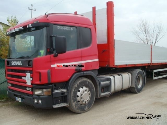 1999 SCANIA P,G,R,T - series 420 Semi-trailer truck Other semi-trailer trucks photo