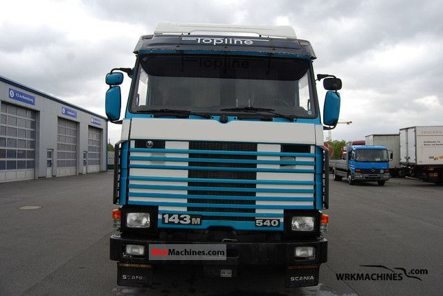 1990 SCANIA P,G,R,T - series 420 Truck over 7.5t Refrigerator body photo