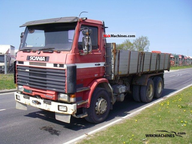 1986 SCANIA P,G,R,T - series 380 Truck over 7.5t Tipper photo