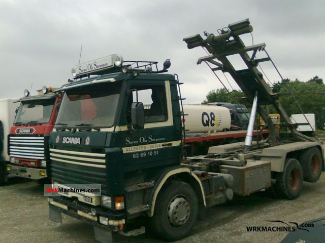 1994 SCANIA 3 - series bus 113 Truck over 7.5t Roll-off tipper photo