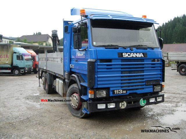 1992 SCANIA 3 - series bus 113 Truck over 7.5t Stake body photo