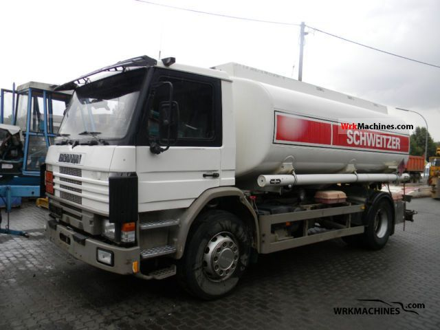 1995 SCANIA P,G,R,T - series 500 Truck over 7.5t Tank truck photo