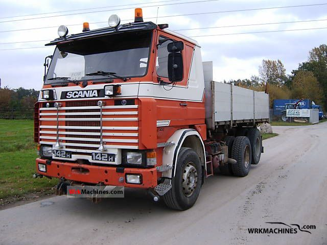 1984 SCANIA 2 - series 142 Truck over 7.5t Tipper photo