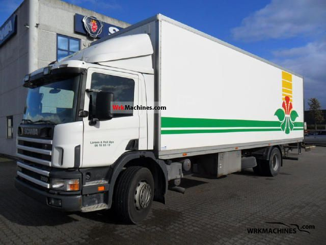 1999 SCANIA P,G,R,T - series 260 Truck over 7.5t Refrigerator body photo