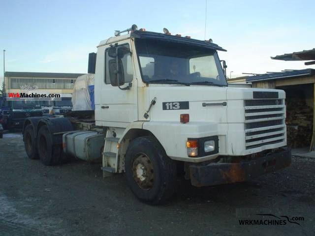 1994 SCANIA 3 - series bus 113 Semi-trailer truck Heavy load photo