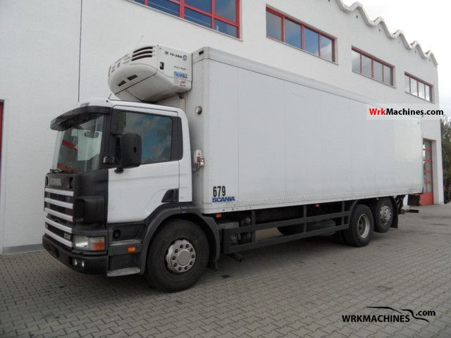 2000 SCANIA P,G,R,T - series 260 Truck over 7.5t Refrigerator body photo