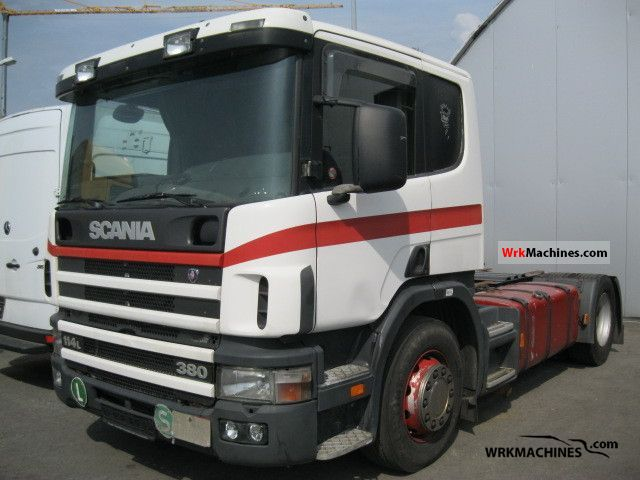 2003 SCANIA P,G,R,T - series 380 Semi-trailer truck Standard tractor/trailer unit photo