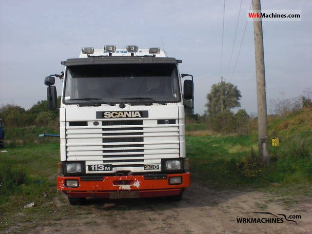 1994 SCANIA 3 - series bus 113 Truck over 7.5t Stake body photo