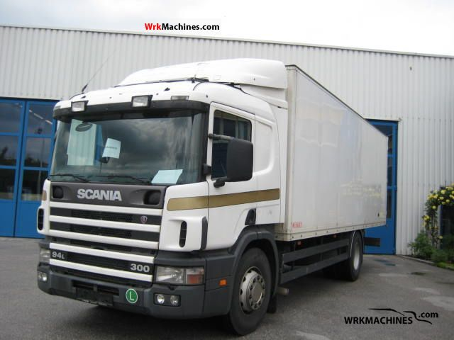 2000 SCANIA P,G,R,T - series 300 Truck over 7.5t Box photo