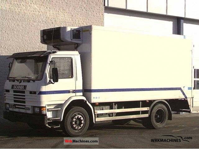 1996 SCANIA 3 - series 93 M/220 Truck over 7.5t Refrigerator body photo