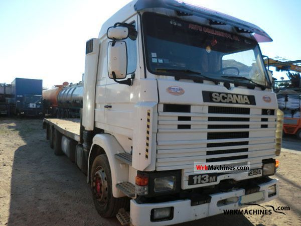 1998 SCANIA 3 - series bus 113 Truck over 7.5t Chassis photo