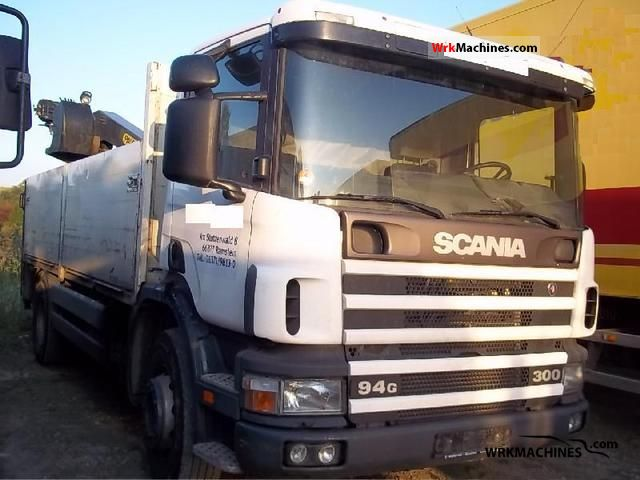 2000 SCANIA P,G,R,T - series 300 Truck over 7.5t Truck-mounted crane photo