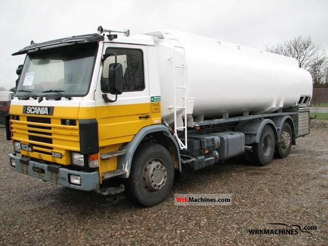 1994 SCANIA 3 - series bus 113 Truck over 7.5t Tank truck photo