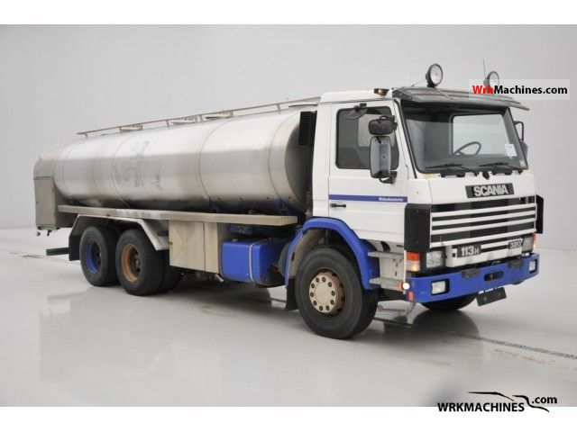 1992 SCANIA 3 - series bus 113 Truck over 7.5t Tank truck photo