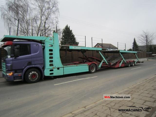 1999 SCANIA 4 - series 114 L/380 Truck over 7.5t Car carrier photo