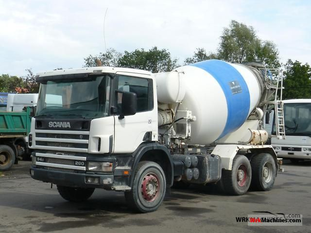 1999 SCANIA 4 - series 94 C/260 Truck over 7.5t Cement mixer photo