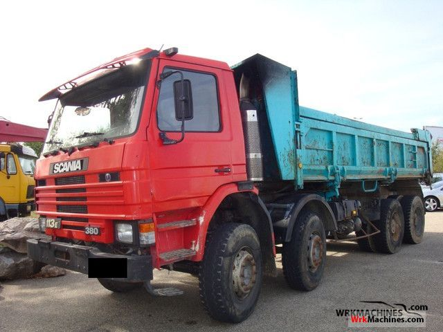 1994 SCANIA 3 - series bus 113 Truck over 7.5t Tipper photo