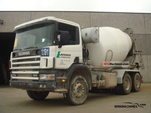 2000 SCANIA 4 - series 94 C/310 Truck over 7.5t Cement mixer photo