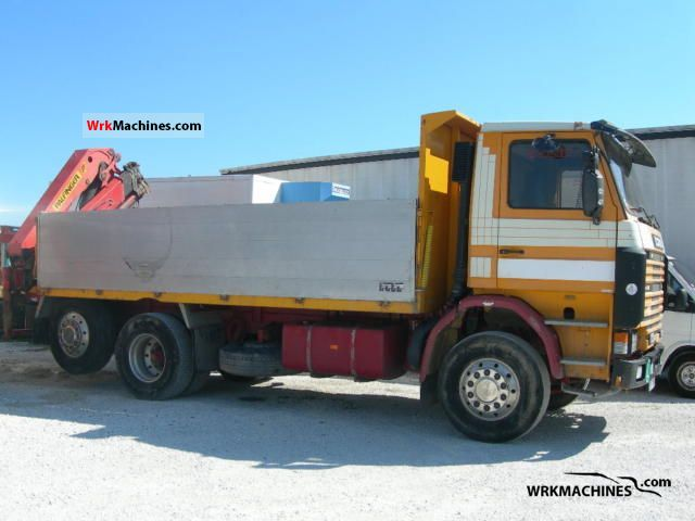 1990 SCANIA 3 - series bus 113 Truck over 7.5t Stake body photo